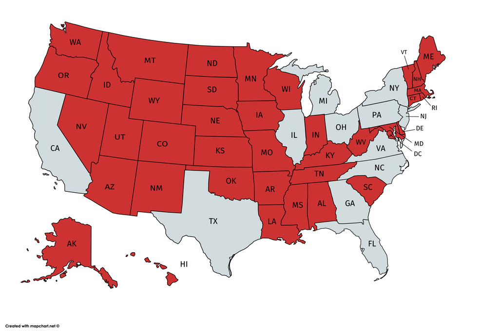 U.S. States with a smaller population than NYC