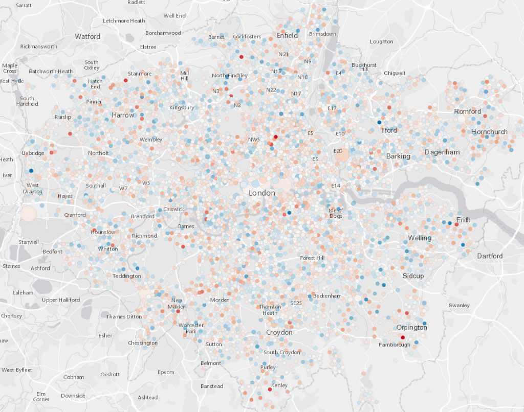London crime prediction (2017)