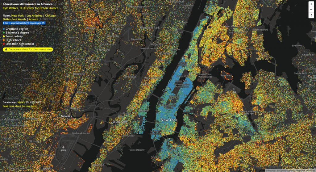 Educational Attainment in New York CIty