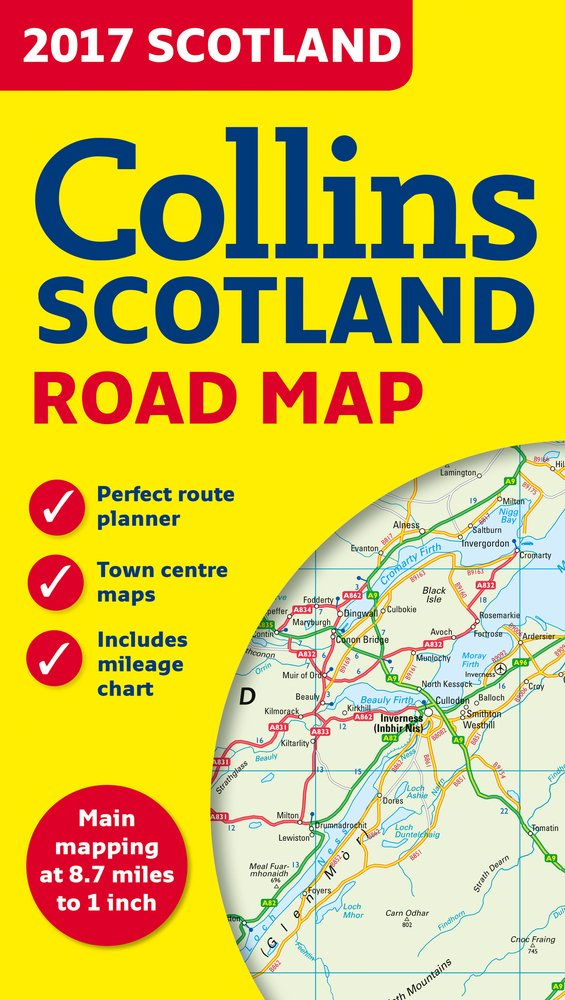 Scotland Travel map