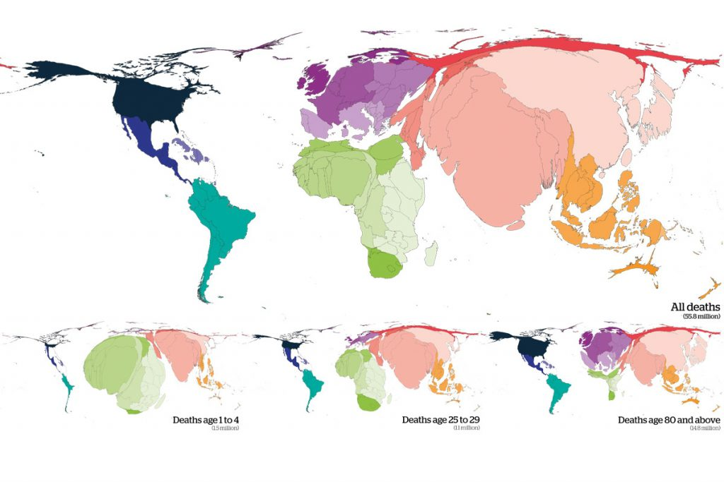 Mapping the world's mortality