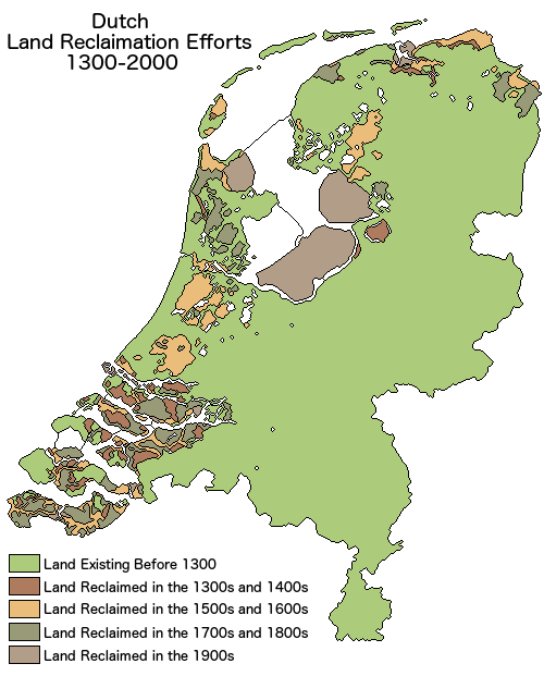 Land Reclamation in the Netherlands