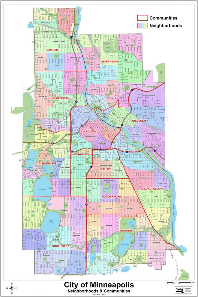 Minneapolis neighbourhoods
