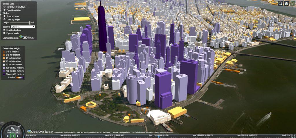New York City in 3D