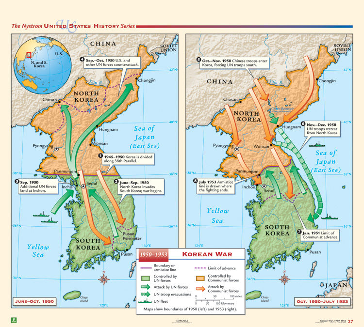 Korean War (1950 - 1953)