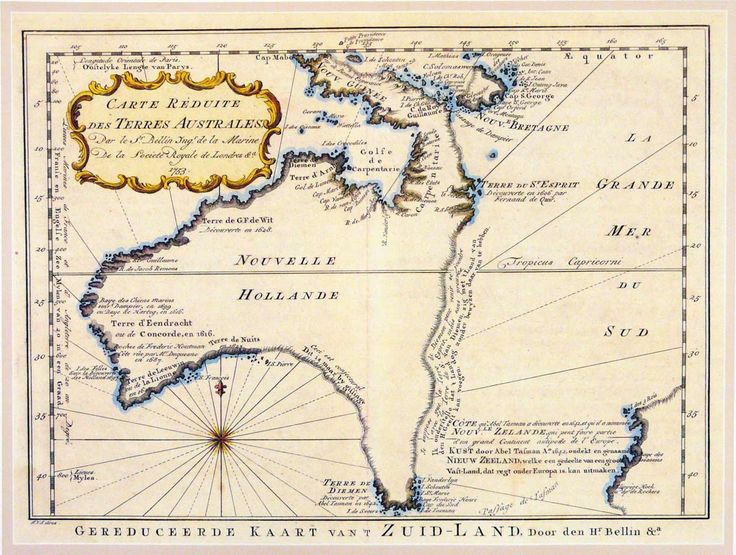 Map of Australia (1793)
