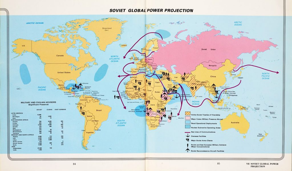 Soviet global power projection