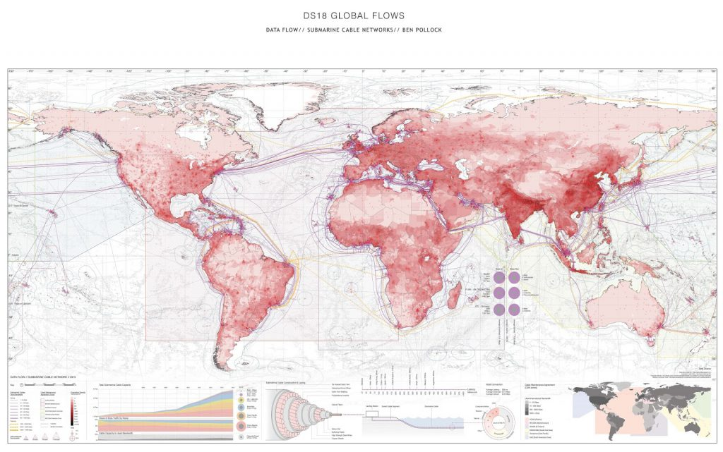 The World's Network of Submarine Cables 2017