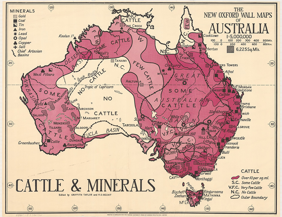 Cattle and minerals (1929)