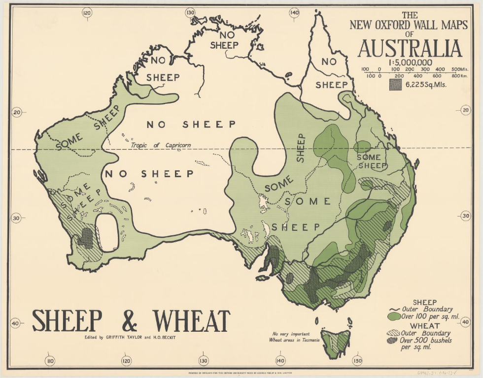 Australia by Sheep and Wheat (1929)