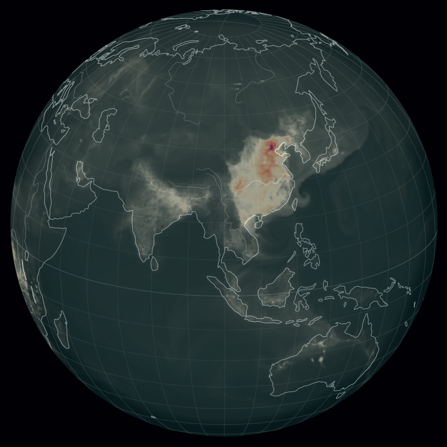 Air pollution in Asia (09/13/2017)