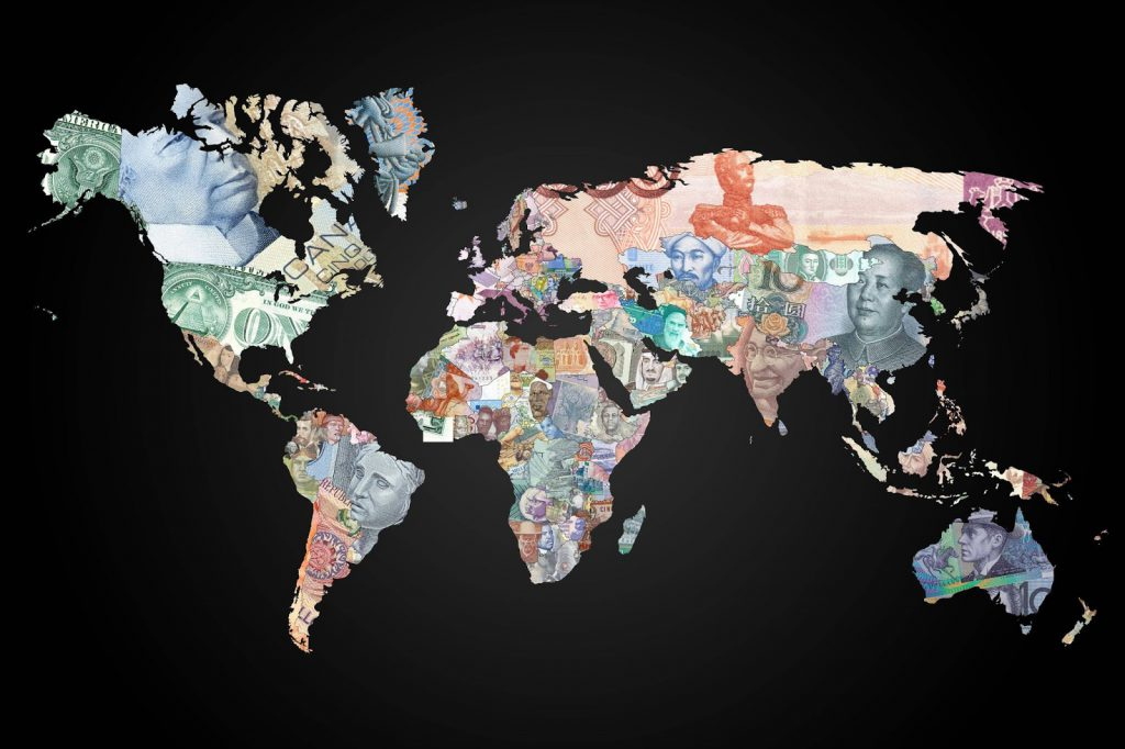Banknotes World Map
