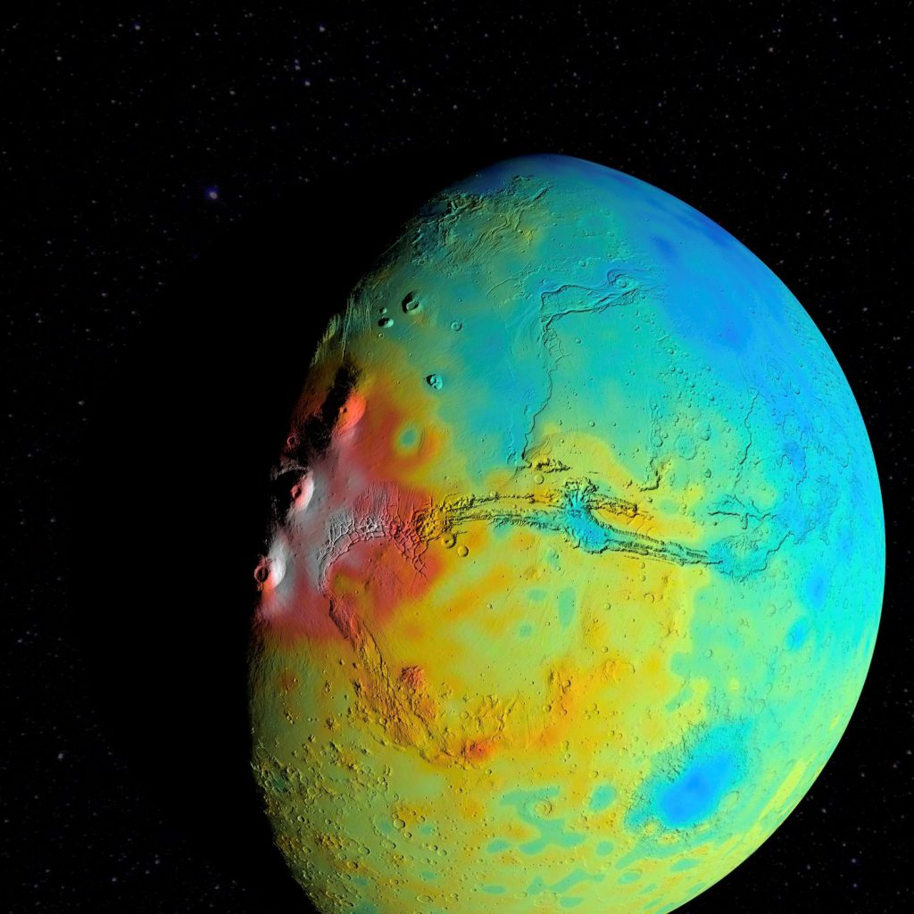 A new gravity map of Mars