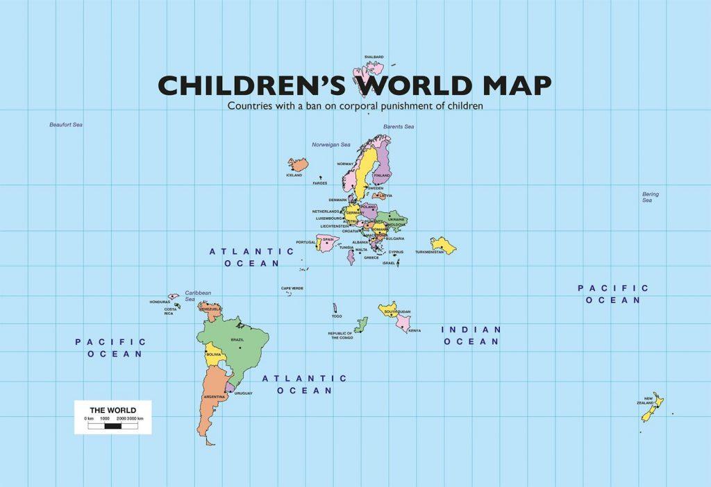 Children's World Map