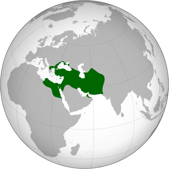Persian Empire at its territorial peak (500 BCE)