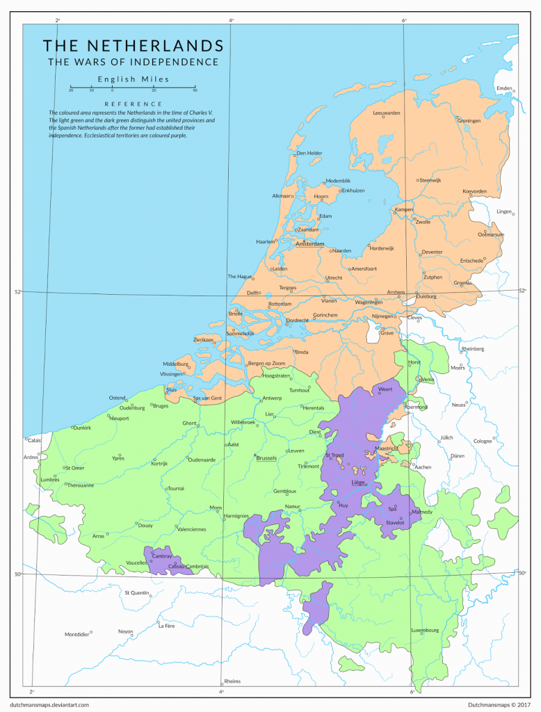The Netherlands: The wars of independence (1648)