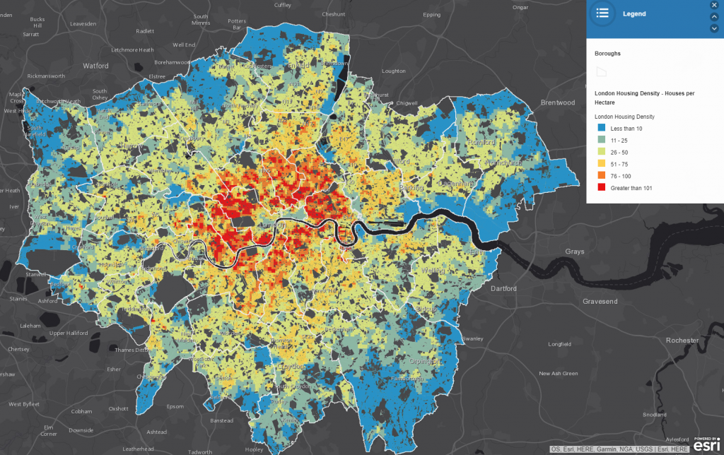 London Housing Density