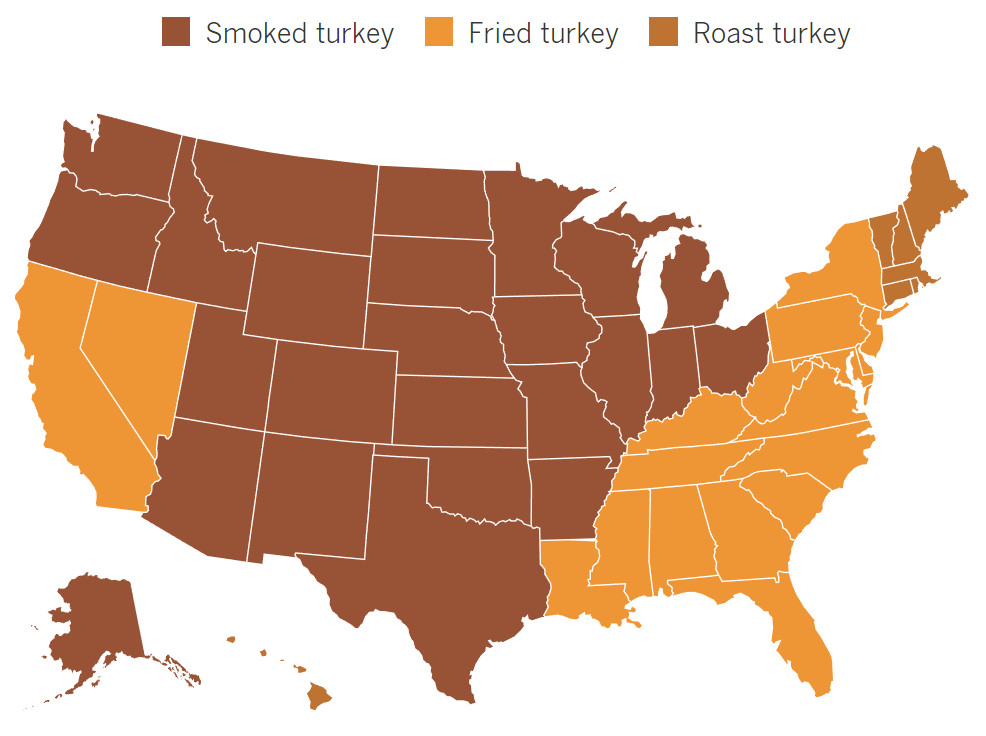Midwest of the U.S. are searching for how to smoke their Thanksgiving bird