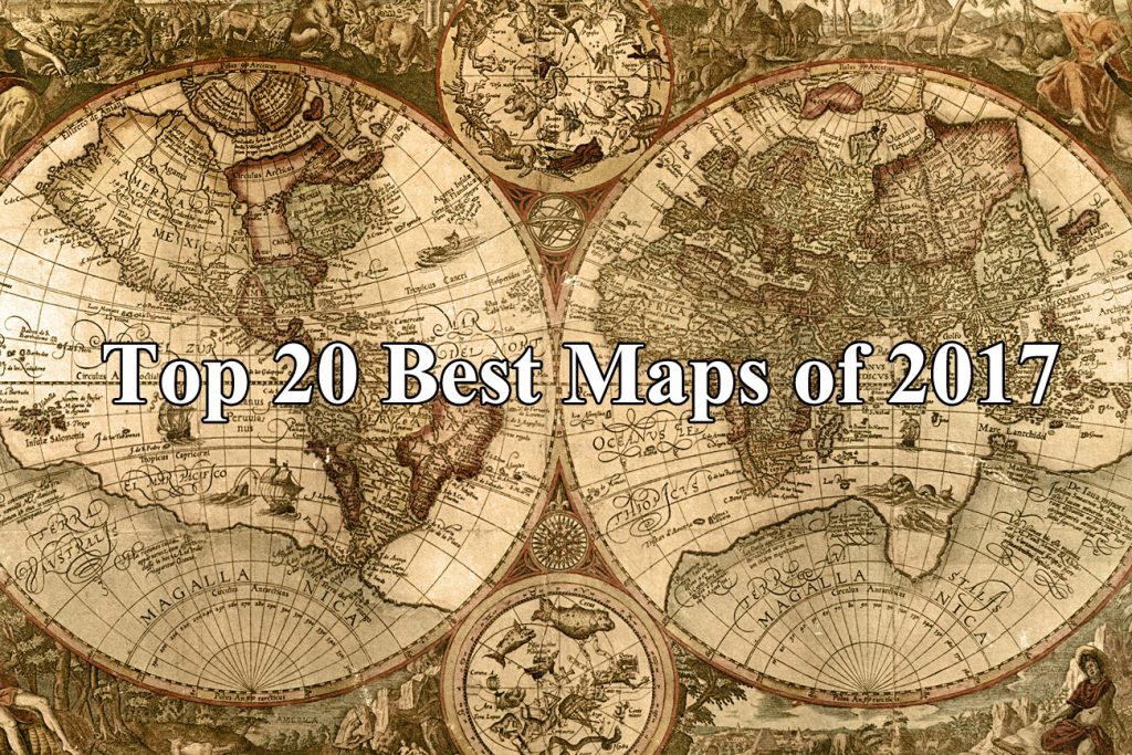 Top 20 Best Maps of 2017