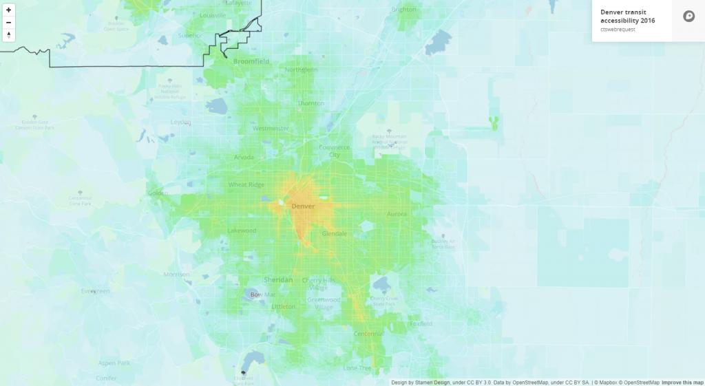 Denver transit accessibility