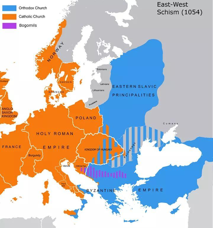 East-West Schism (1054)