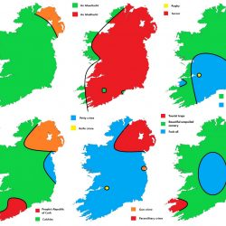 6 ways to divide Ireland