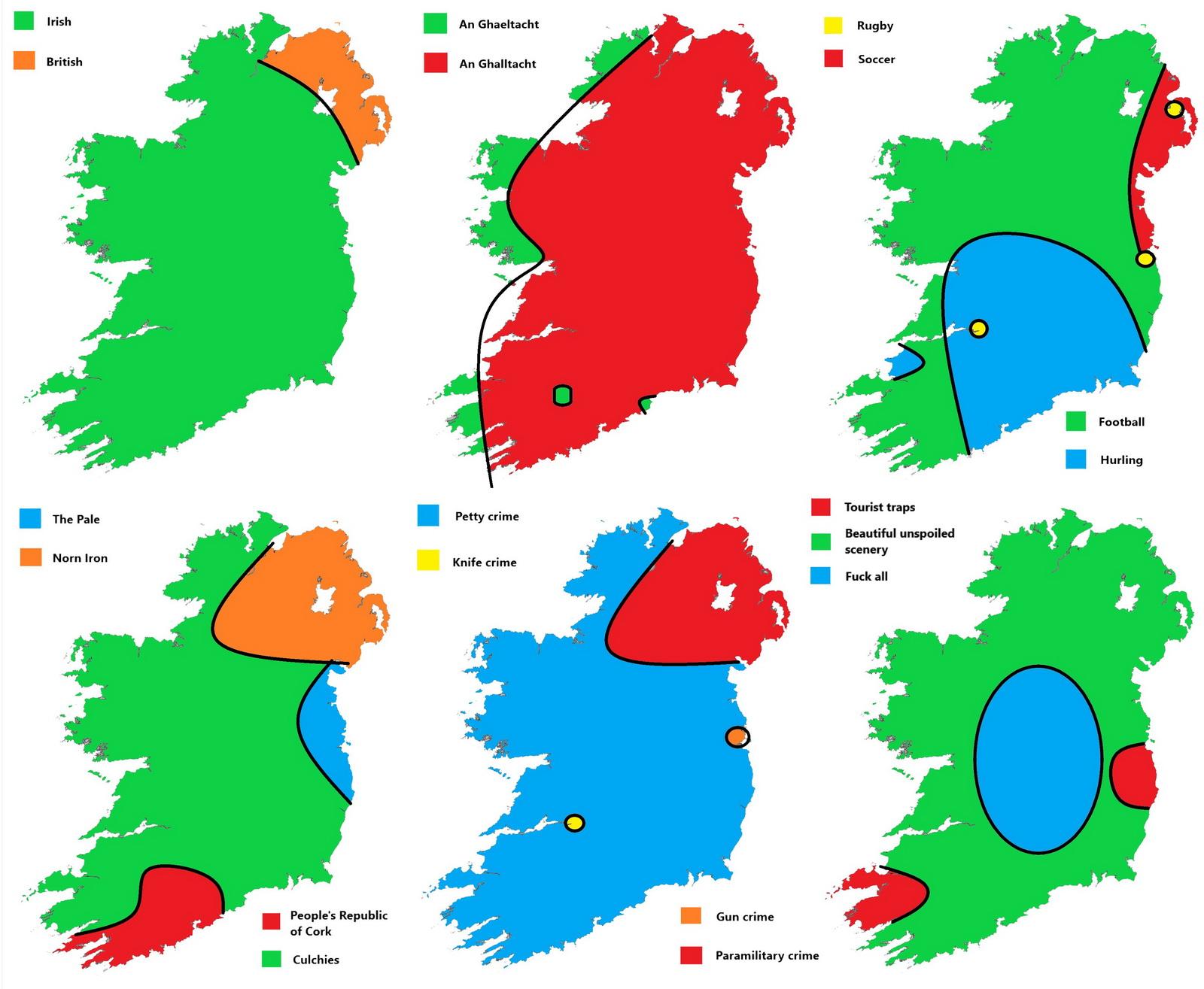 Tearing apart Ireland