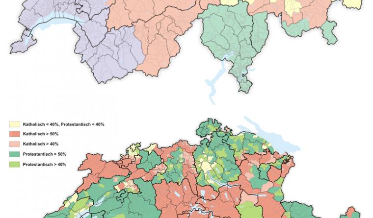 Switzerland Archives Vivid Maps - Switzerland language map