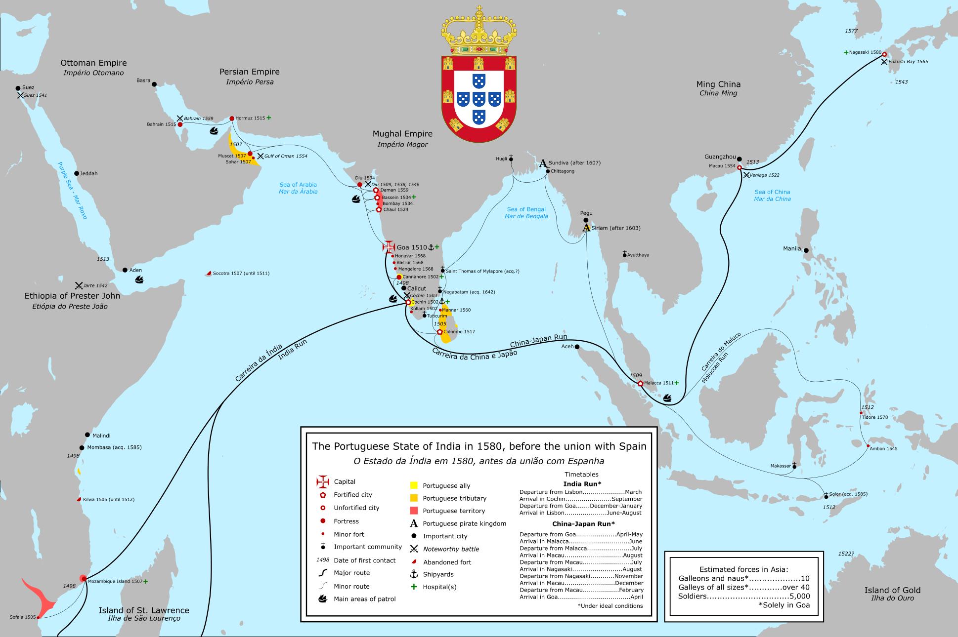 Rise and Fall of the Portuguese Empire (v2) - YouTube |Portuguese Territory