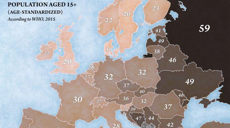 Europe smoking (males)