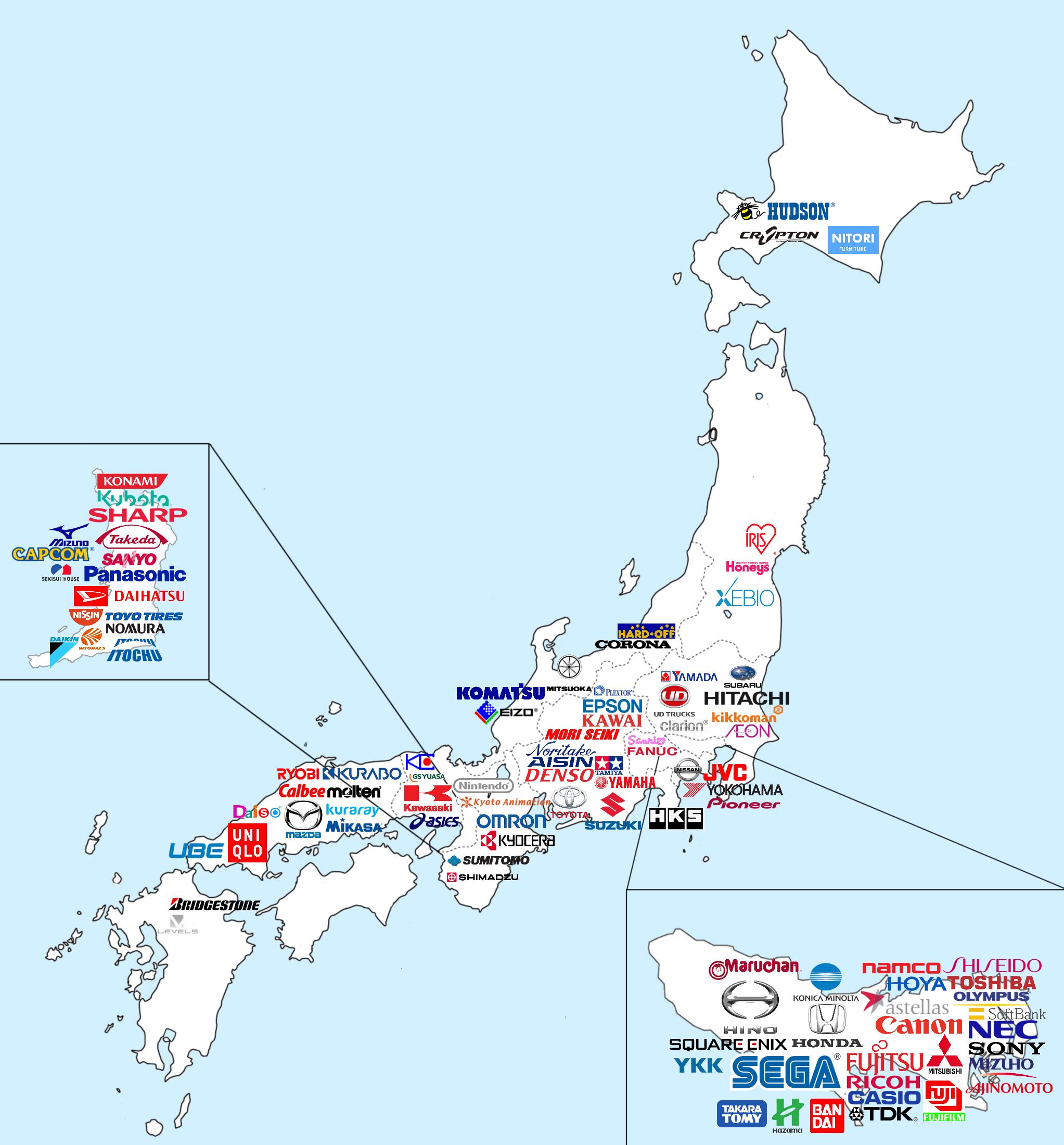 All Japanees brands