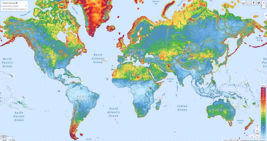 Global Wind Atlas Vivid Maps