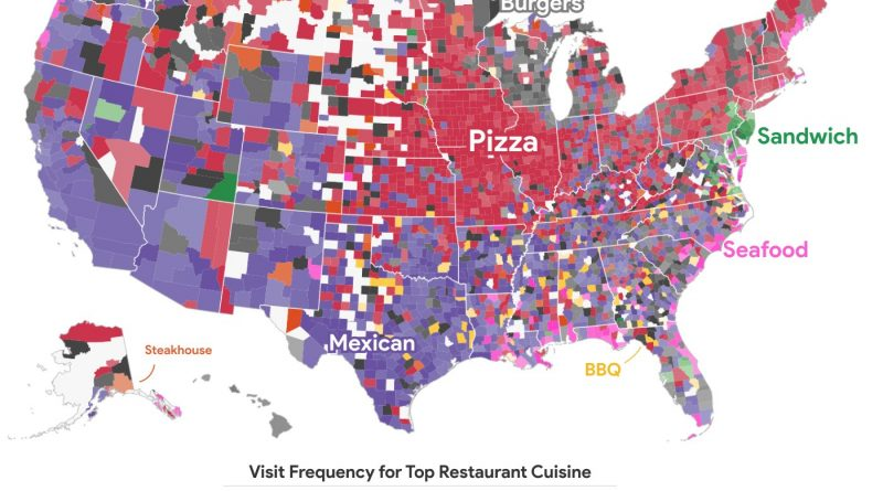 The most-visited restaurant cuisine in the U.S.