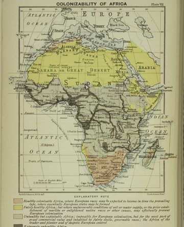 Colonizability of Africa