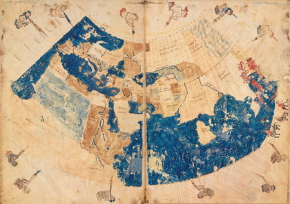 Byzantine Copy of Ptolemy's World Map