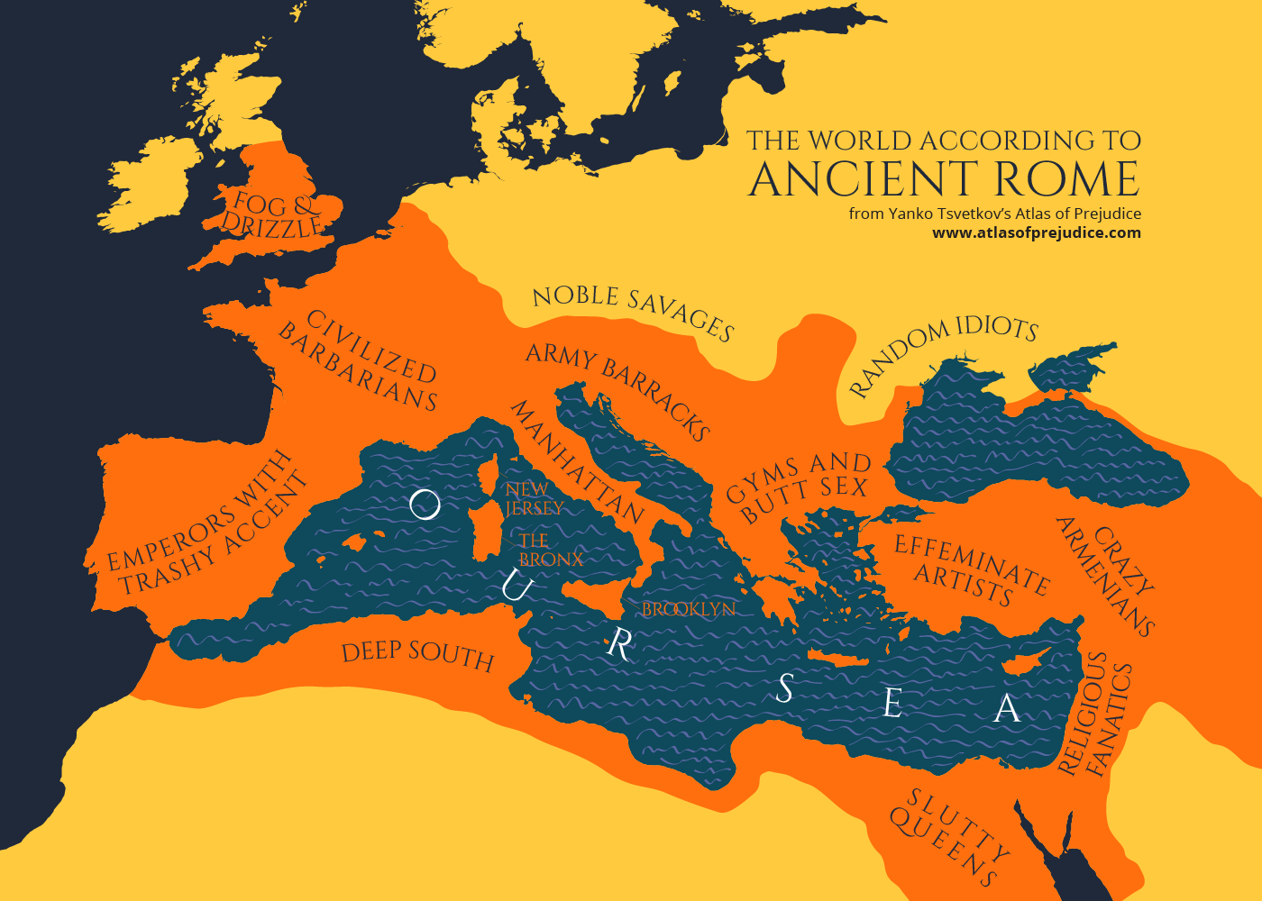 The World According to Ancient Rome