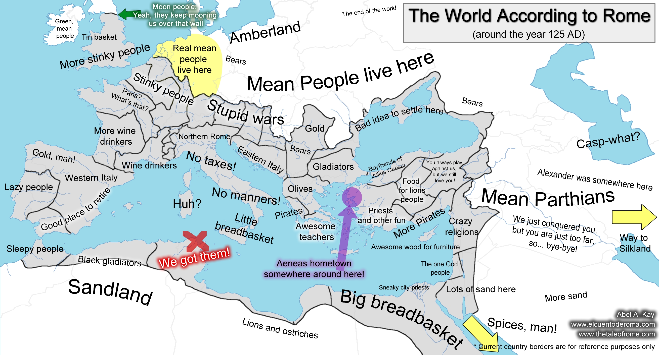 The World According to Rome