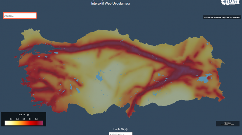 Which areas of Turkey have the highest risk of earthquakes?