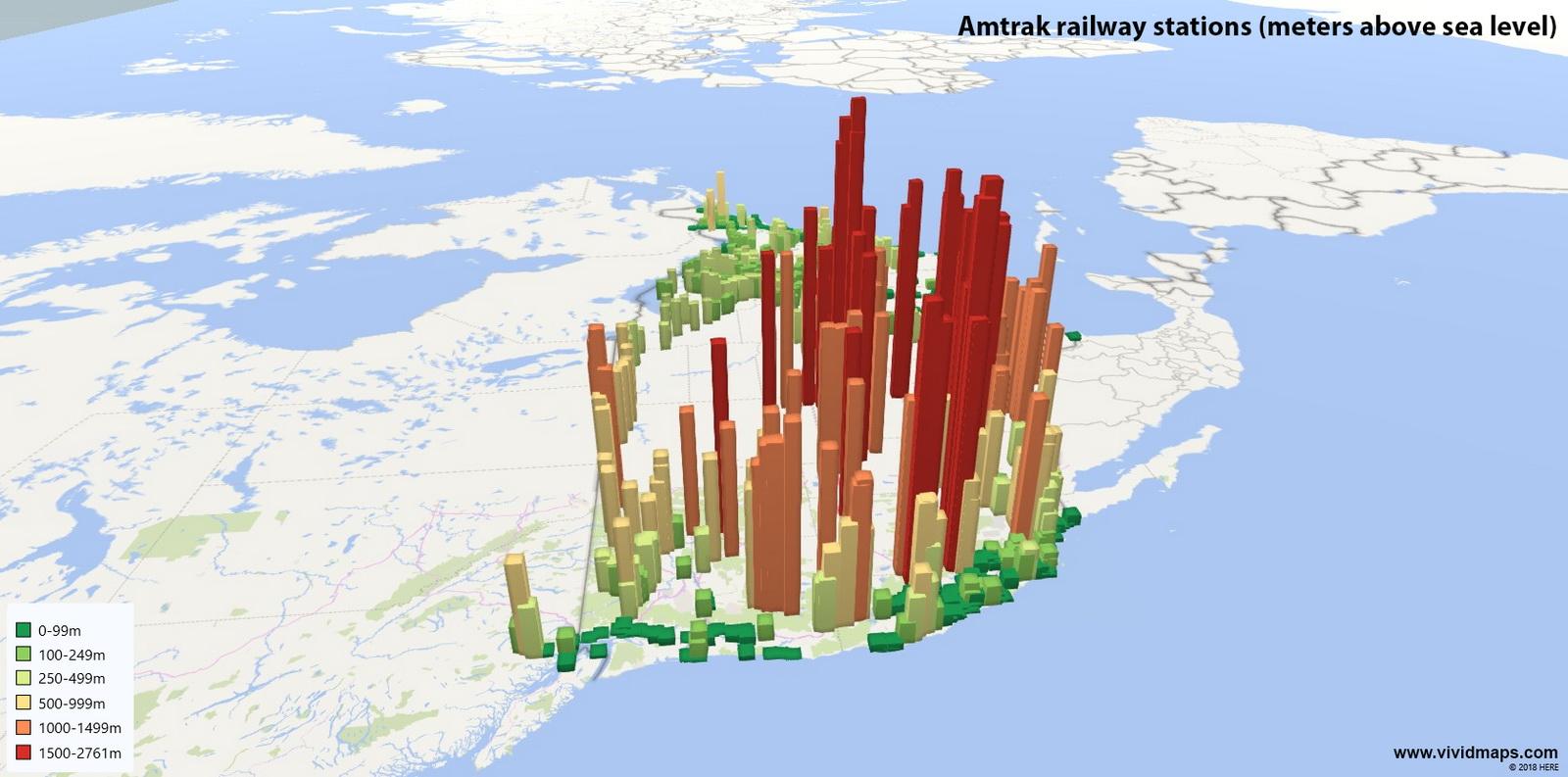 American railway stations
