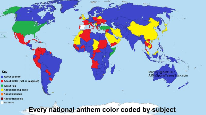 Anthems by country