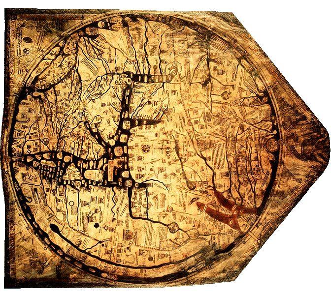 Medival Mappa Mundi.