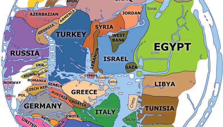 Modern Mappa Mundi