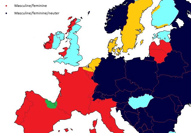 Gender in European languages