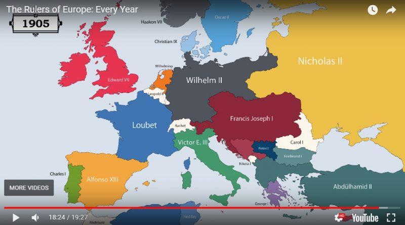 Rulers of Europe