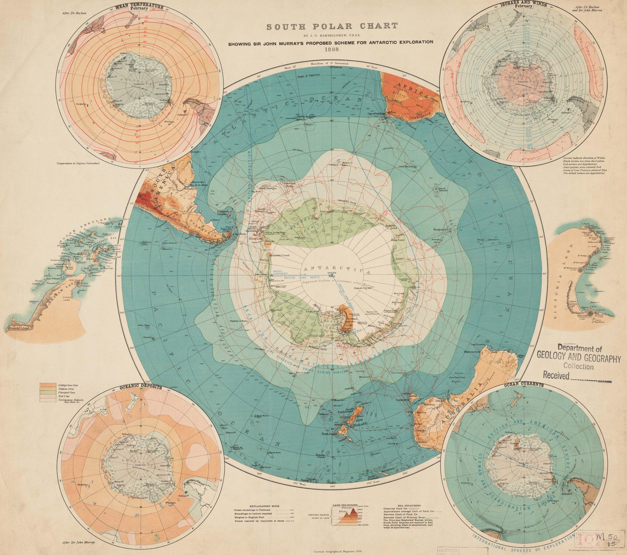 South Polar Chart