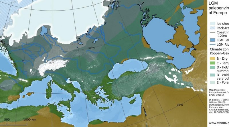 Last Ice Age in Europe