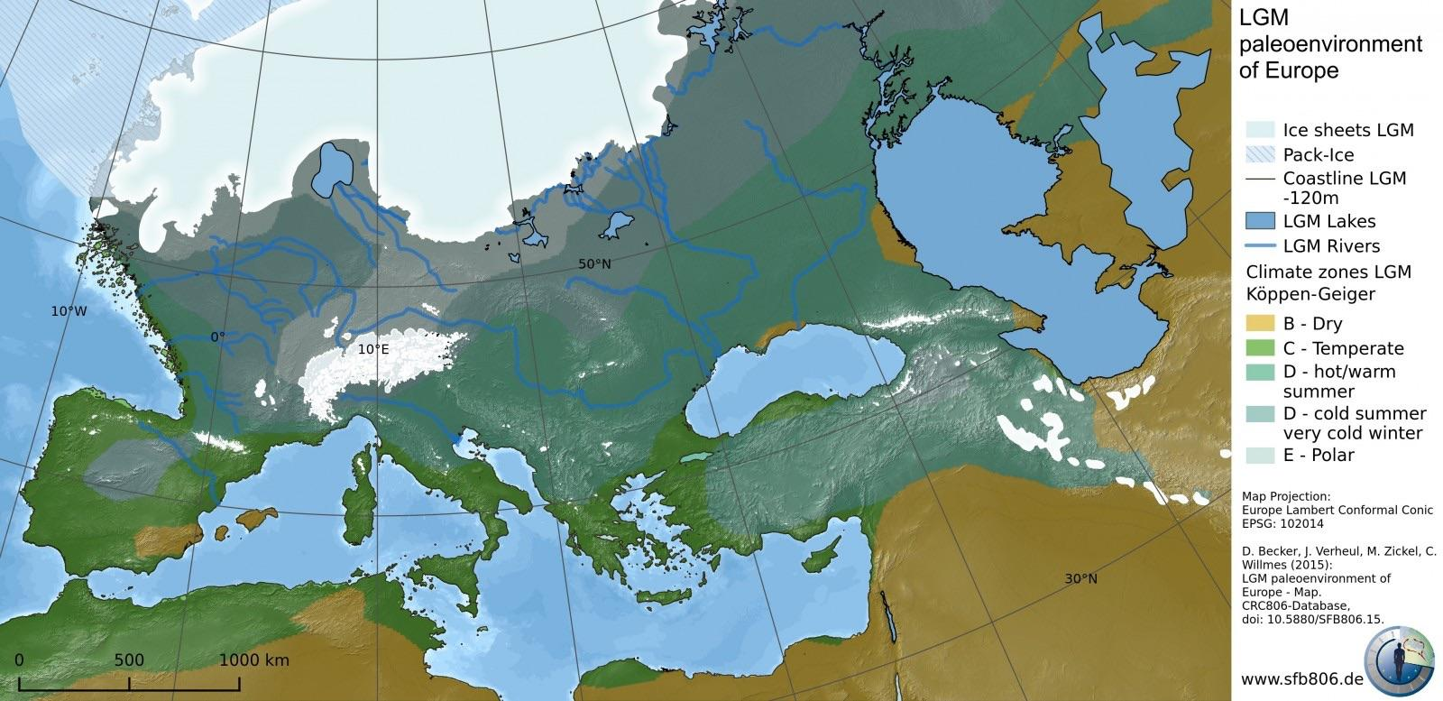 The Last Ice Age in Europe