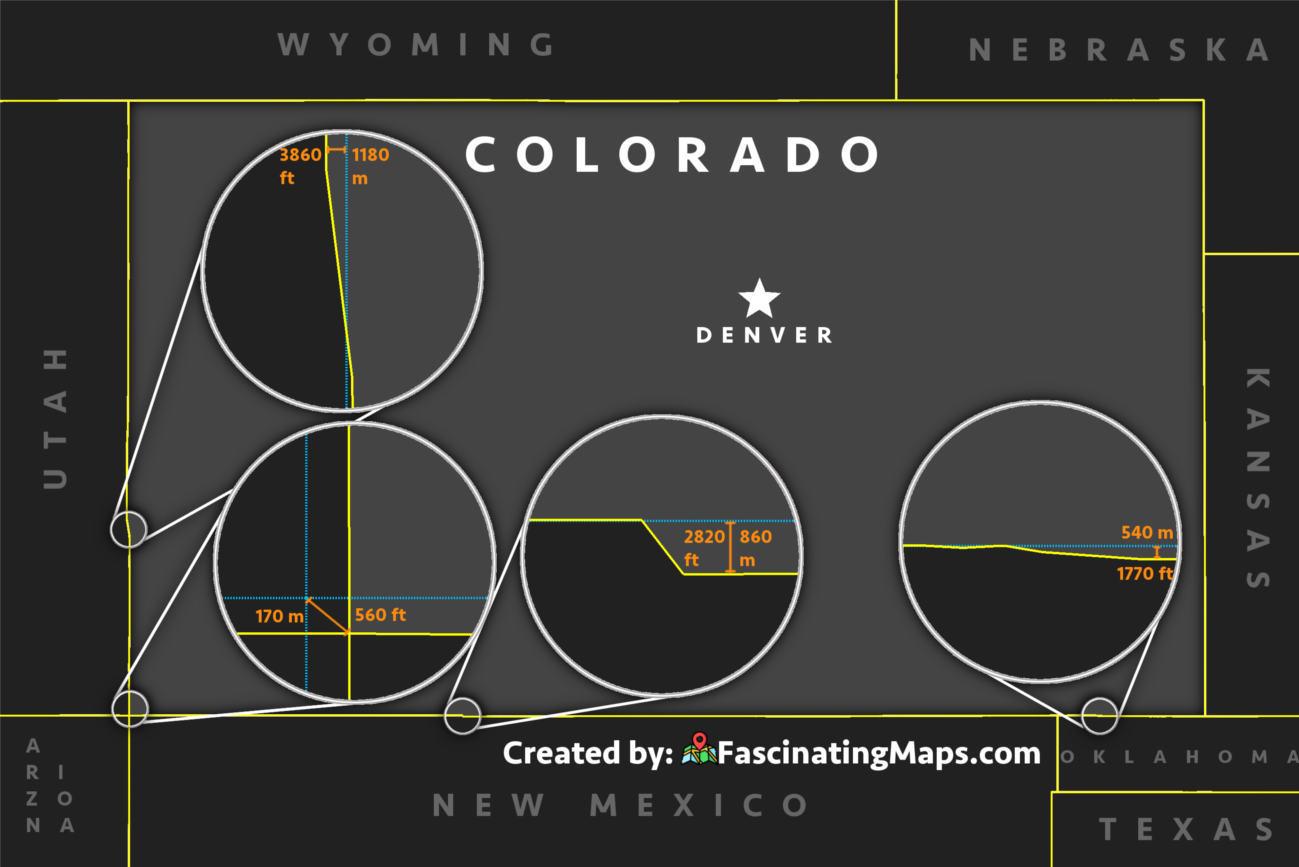 Colorado's border deviations