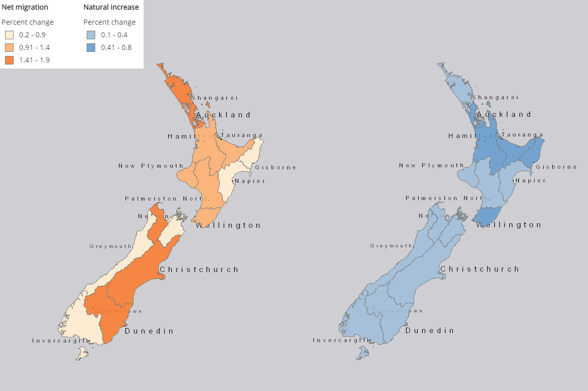 Asian population in new zealand rather