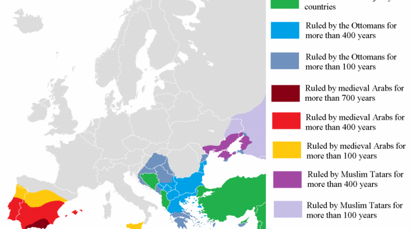 Muslim In Europe Map.Religion Archives Vivid Maps
